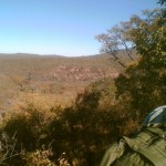 view of the waterberg bush and mountains