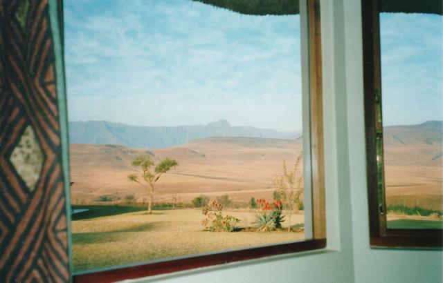 mountain lodge, view